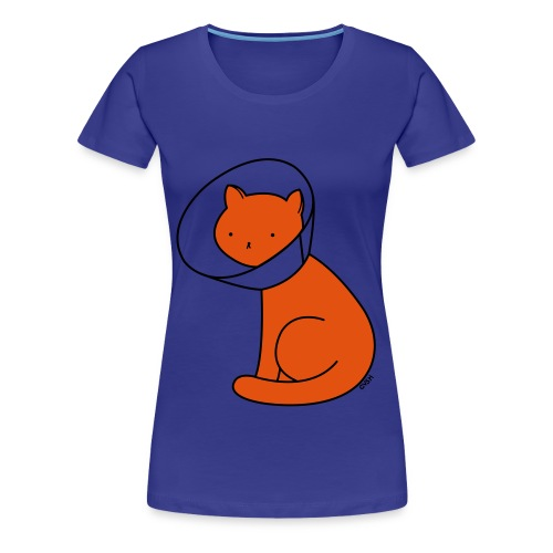 Cone of Shame - Women's Premium T-Shirt