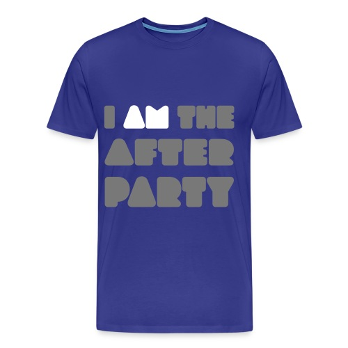 i am the after party - Mannen Premium T-shirt