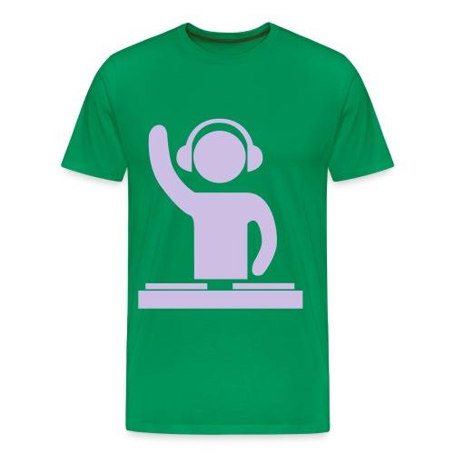 hey dj - Mannen Premium T-shirt