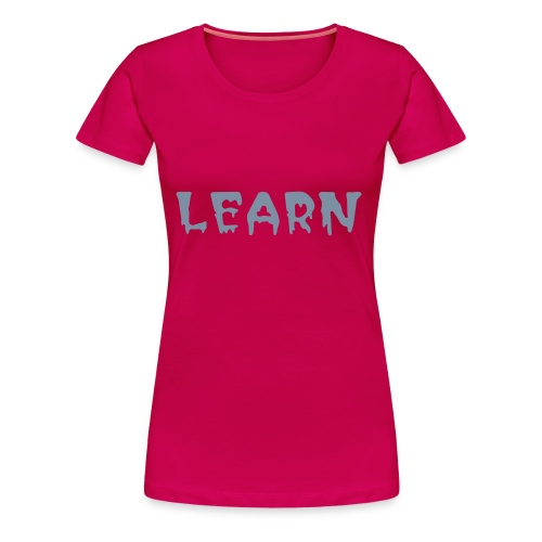 LEARN - Halloweenz - Women's Premium T-Shirt