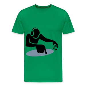 dj table - Mannen Premium T-shirt