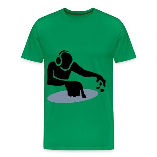 dj table - Mannen Premium T-shirt