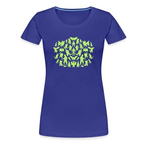 Green Monsters - Frauen Premium T-Shirt