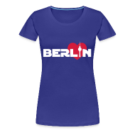 T-Shirts ~ Frauen Premium T-Shirt ~ Love Berlin (Girlie)