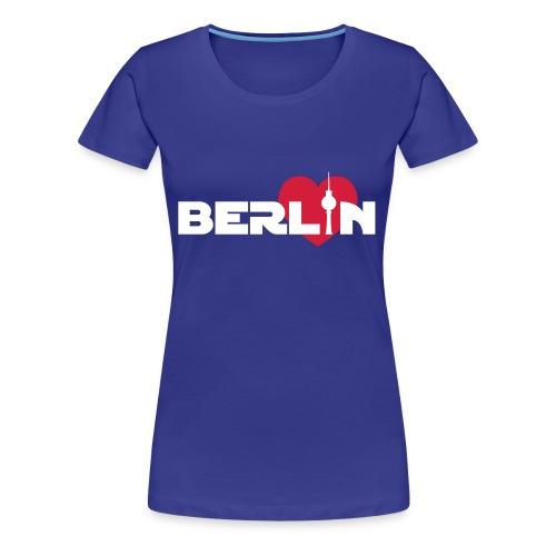 Love Berlin (Girlie) - Frauen Premium T-Shirt