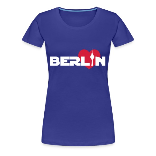 Love Berlin (Girlie) - Frauen Premium T-Shirt