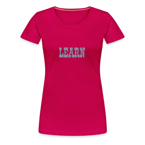 LEARN - Old Town - Women's Premium T-Shirt