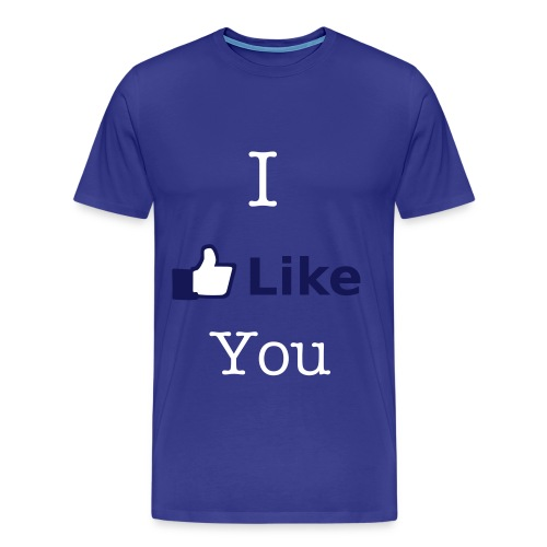 I Like You - Mannen Premium T-shirt