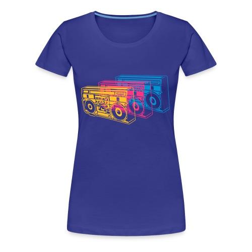 Child of the Ghottoblaster - Frauen Premium T-Shirt