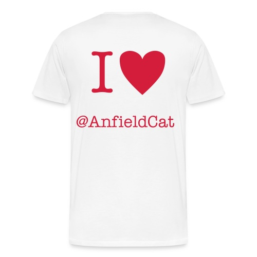 HeartTheAnfieldCat - Men's Premium T-Shirt