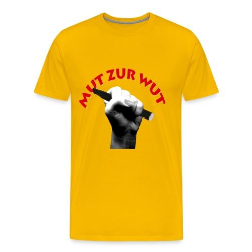 mut männer - Männer Premium T-Shirt