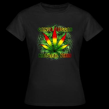 ganja reggae natural vibes T-Shirts