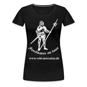 Freelancer on tour mit Link Front - Frauen Premium T-Shirt
