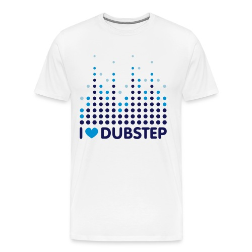 LOVE DUBSTEP - Men's Premium T-Shirt