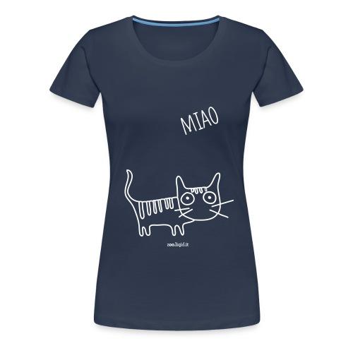 miss gatto - Maglietta Premium da donna
