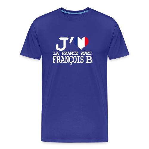 J'aime la France avec François B - T-shirt Premium Homme