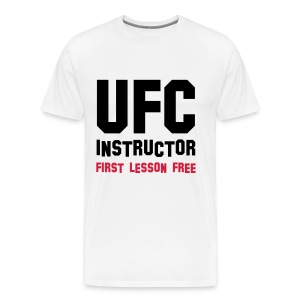 UFC INSTRUCTOR - Men's Premium T-Shirt