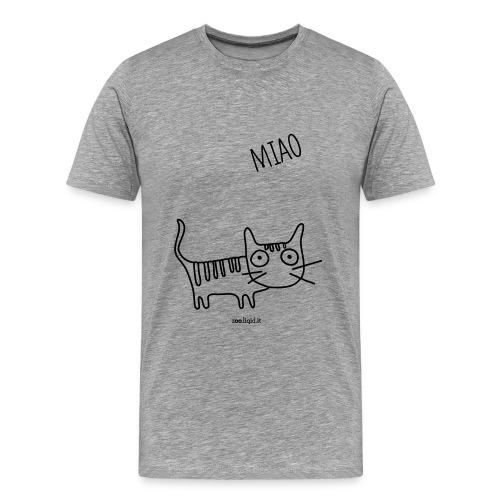 mr gatto - Maglietta Premium da uomo