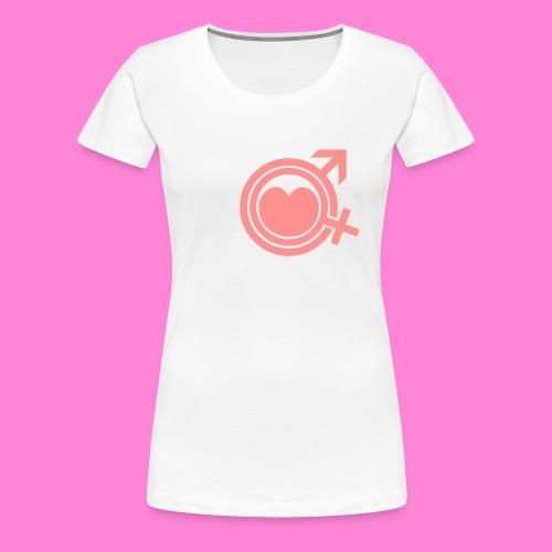 Ik hou van mijn man - Vrouwen Premium T-shirt