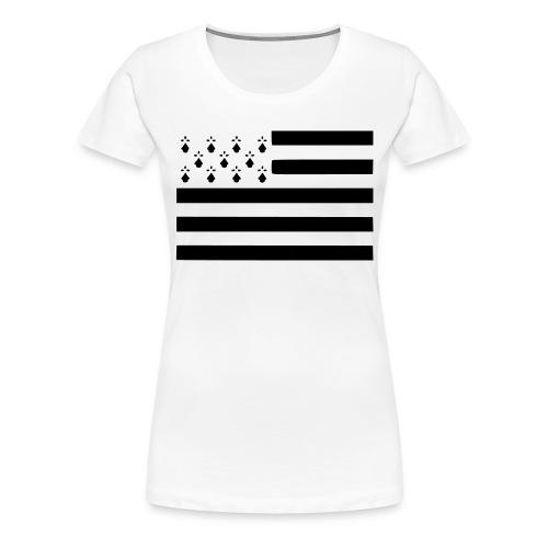 Tee-shirt femme Bretagne - T-shirt Premium Femme