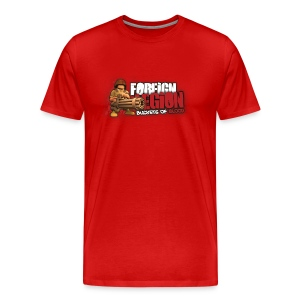 Foreign Legion: Buckets of Blood Red - Men's Premium T-Shirt