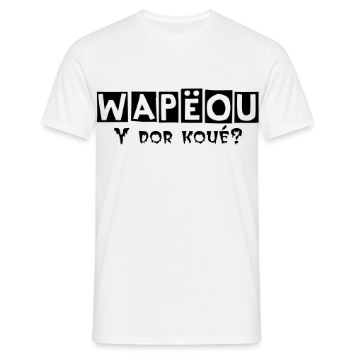 Wapeou homme - T-shirt Homme