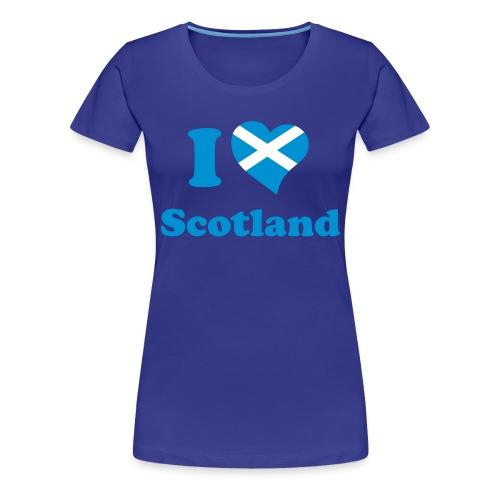 Tee-shirt femme Scotland - T-shirt Premium Femme