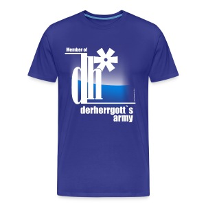 Official Fan-Shirt of derherrgott`s Army - Männer Premium T-Shirt