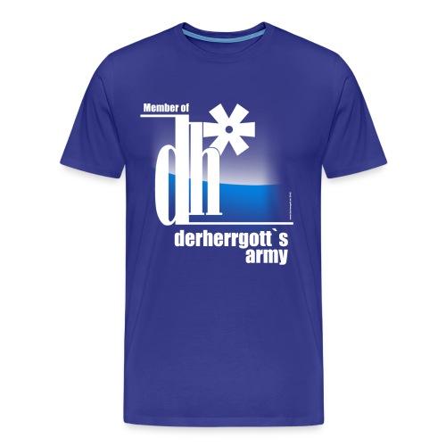 Official Fan-Shirt of derherrgott`s Army - Männer Premium T-Shirt