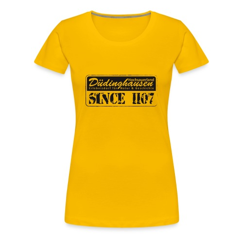 Düdinghausen since 1107 - Frauen Premium T-Shirt