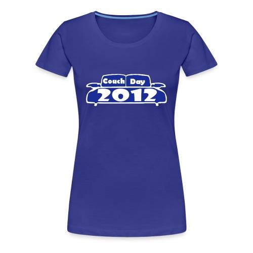 Couchday  Girlie - Frauen Premium T-Shirt