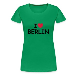 I love Berlin T-Shirt (Girlie) - Frauen Premium T-Shirt