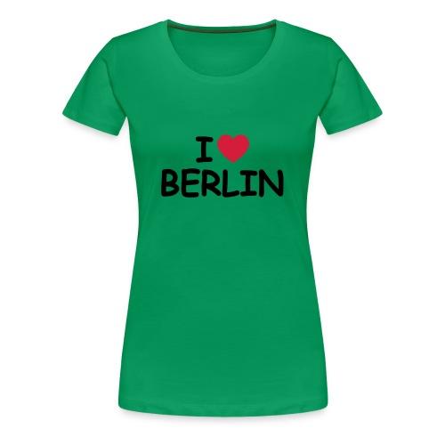 I love Berlin T-Shirt (Girlie) - Frauen Premium T-Shirt