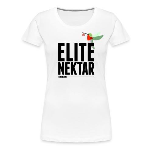 KOLIBRI ELITE WOMEN WHITE - Frauen Premium T-Shirt