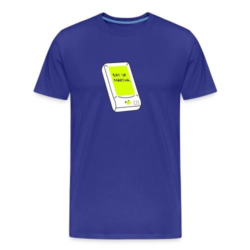 WRZ_52_BLU_MARTHA - Männer Premium T-Shirt