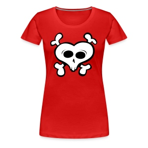 i love skull - Women's Premium T-Shirt