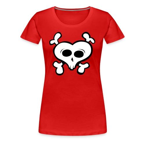 i love skull - Women's Premium T-Shirt