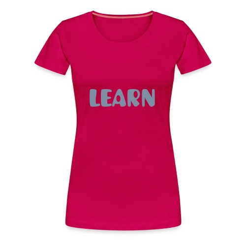 LEARN - Jellybaby - Women's Premium T-Shirt