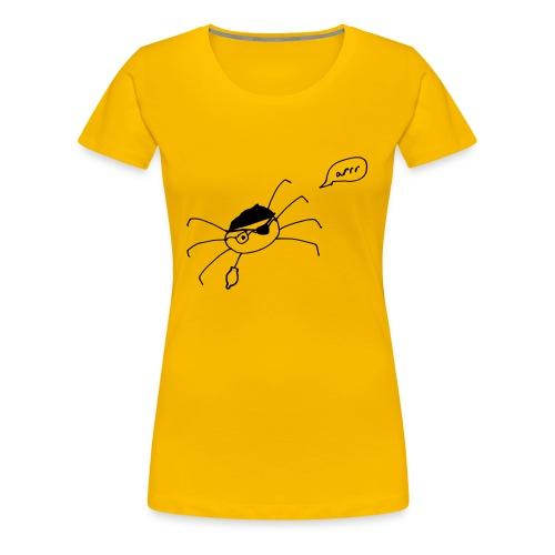 Pegleg Dave - Women's Premium T-Shirt