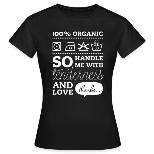 Typographic Laundry Tag TLC  T-shirts - Women's T-Shirt