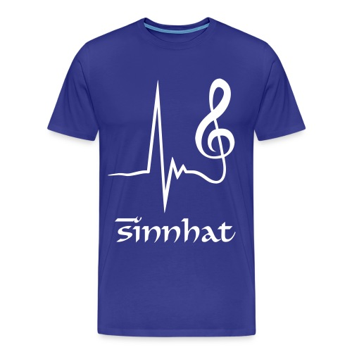 Sinnhat Designs Music is Key - Männer Premium T-Shirt