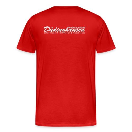 ... im Speicher (groß+vorne | Düdinghausen Hochsauerland (hinten) - Männer Premium T-Shirt