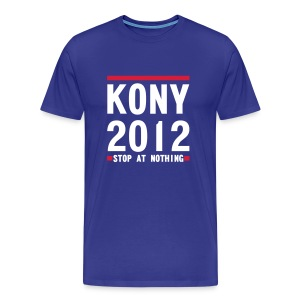 KONY 2012 STOP AT NOTHING - Men's Premium T-Shirt