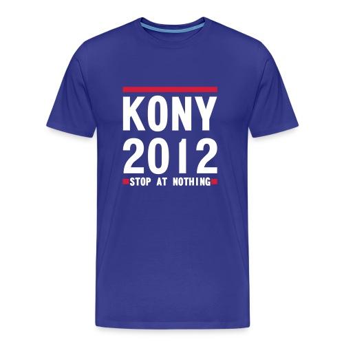 KONY  STOP AT NOTHING - Men's Premium T-Shirt