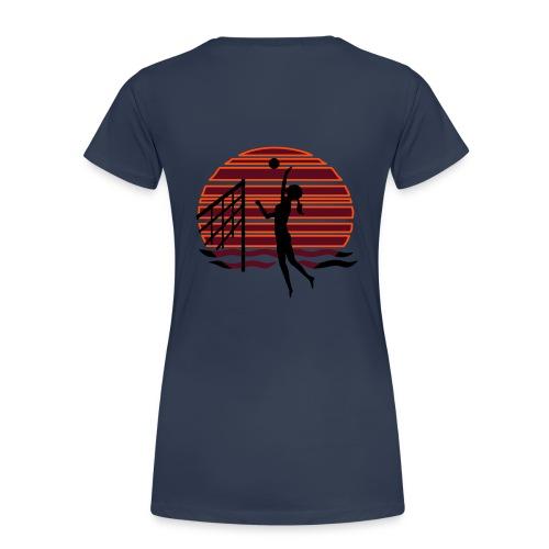 Beachvolley at Sunset - Shirt - Frauen Premium T-Shirt