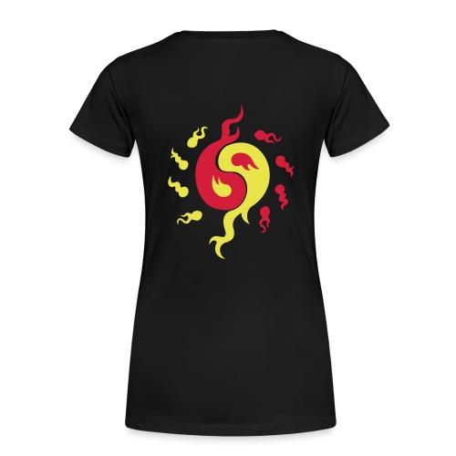 T-shirt yin yang énergie - T-shirt Premium Femme