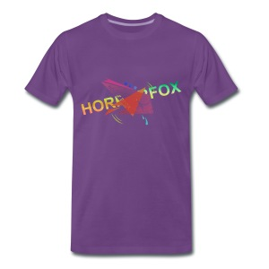 HorrorFox Complex Men's Tee [Purple] - Men's Premium T-Shirt