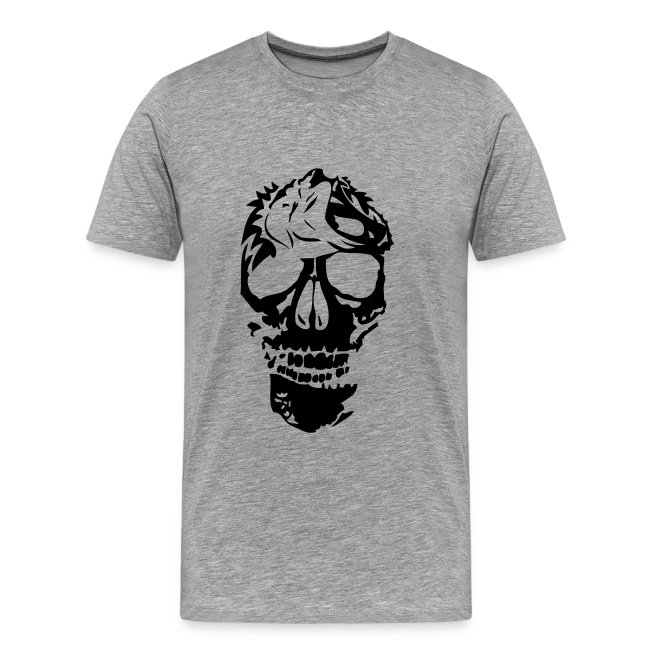 f56c86fbc61f T-shirt tête de mort - Boutique de Sweatshirts Tête de mort   tribal ...