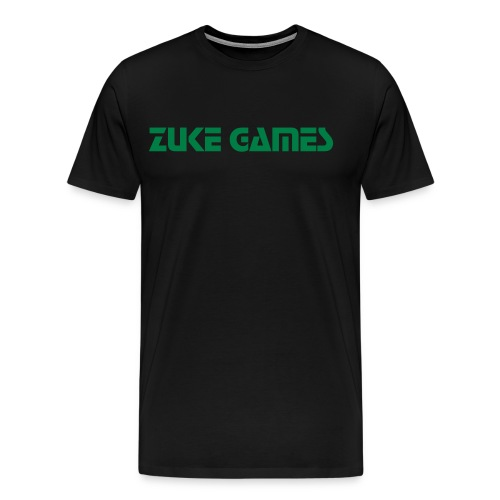 plain zuke games - Men's Premium T-Shirt
