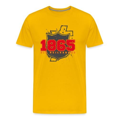 1865 (rot/grau) - Männer Premium T-Shirt